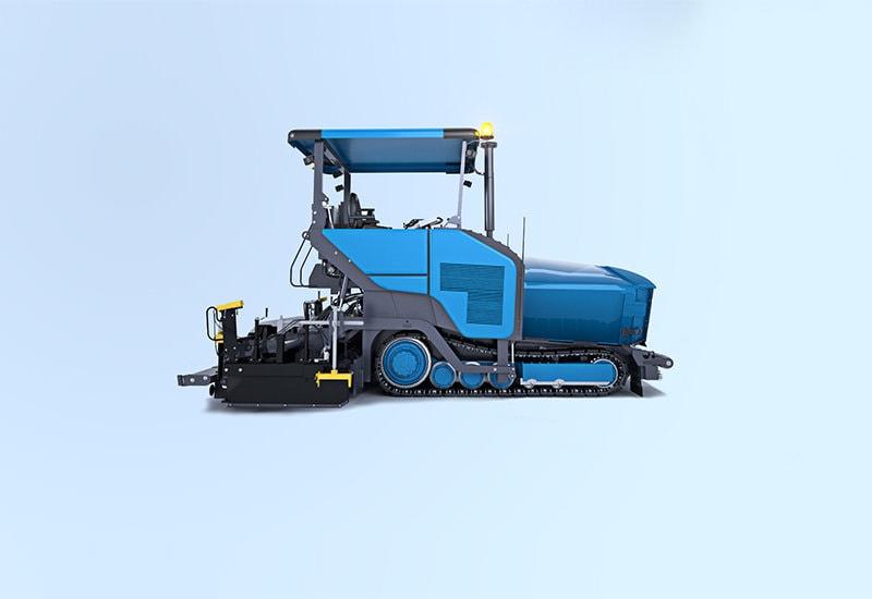 MOBA maskinstyrning för asfaltsläggare