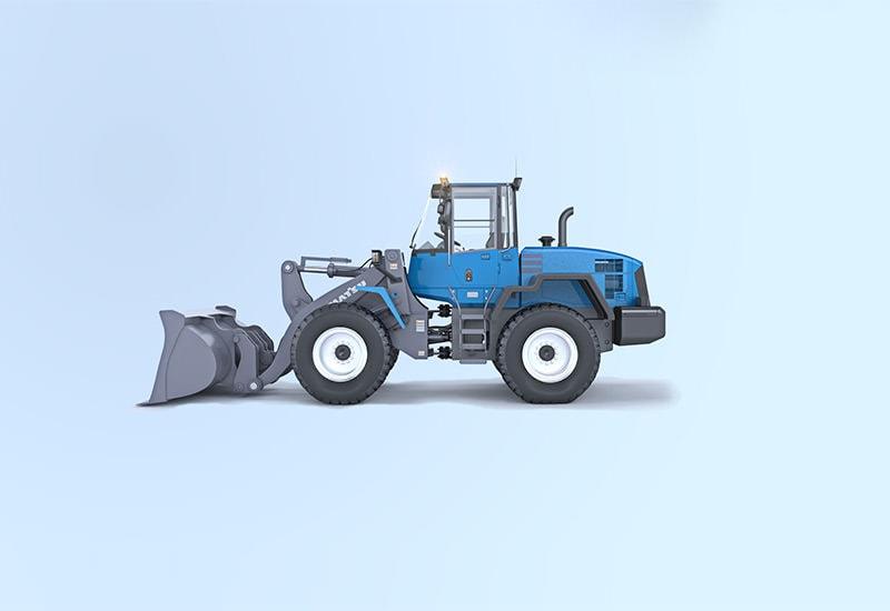 MOBA maskinstyrning för hjullastare