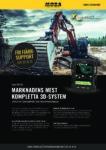 Produktblad Xsite PRO 3D Grävmaskin