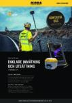 Produktblad Xsite PAD & ROVER - Handburen GPS